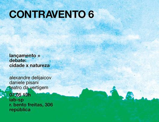 Lançamento da revista Contravento 6 no IAB-SP, Cortesia de Revista Contravento