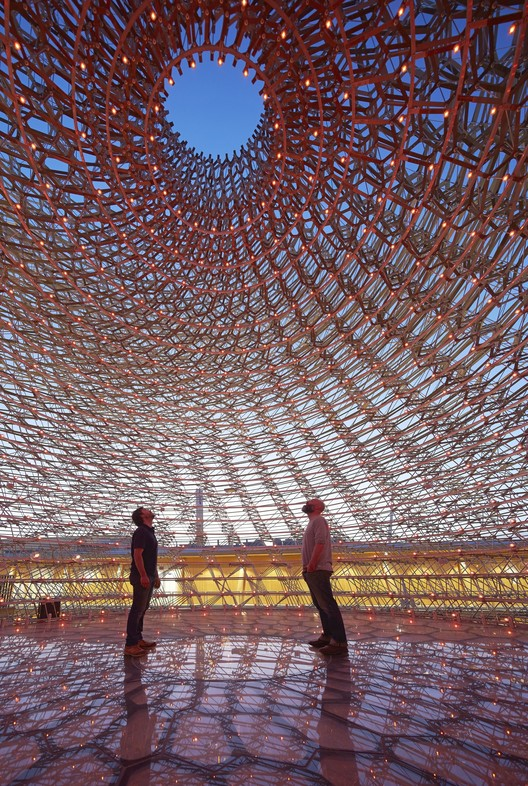 UK Pavilion - Milan Expo 2015 / Wolfgang Buttress, Courtesy of  UKTI