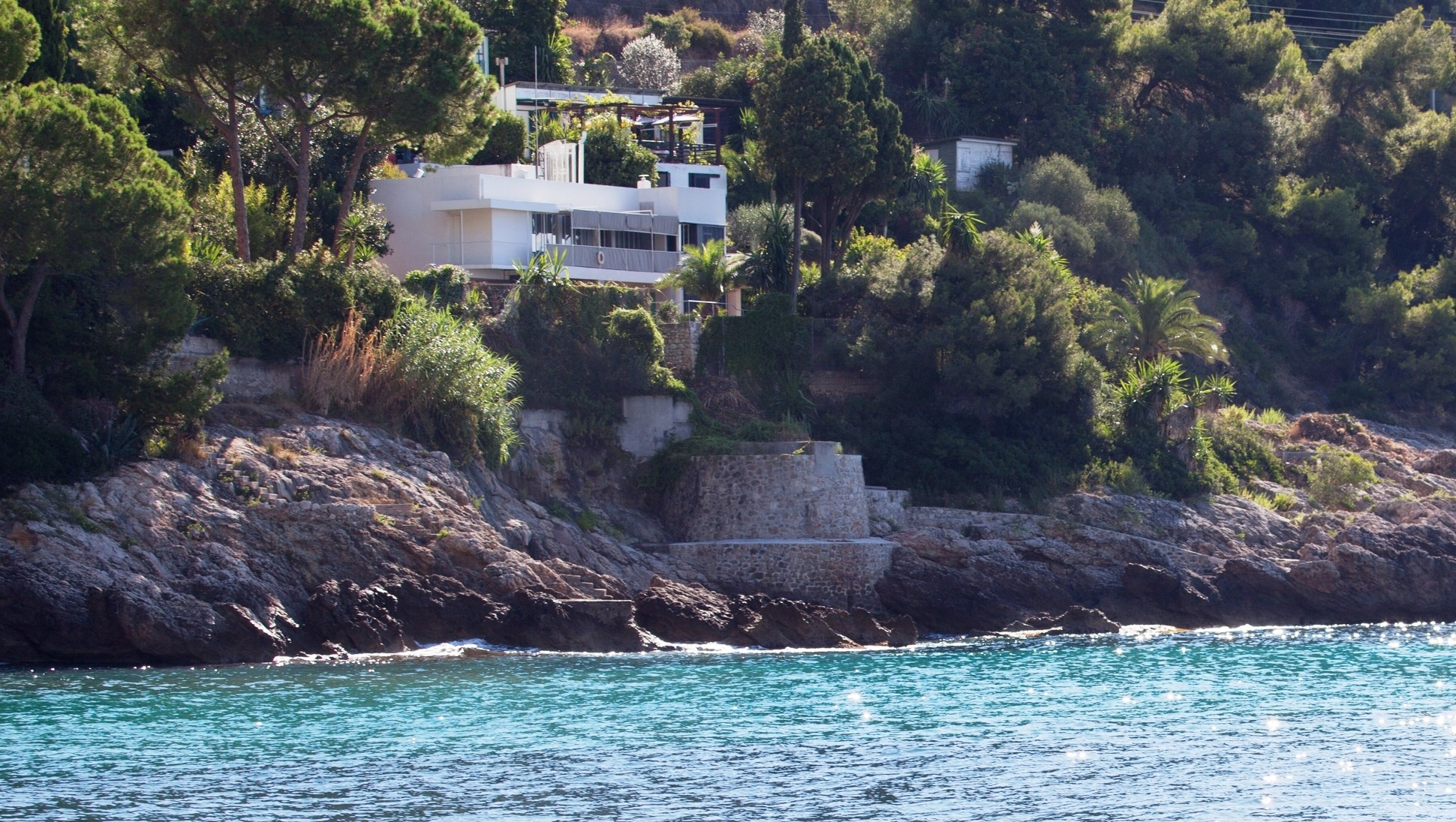 Eileen Gray's Restored E1027 Opens to the Public , E1027, Roquebrune-Cap-Martin by Eileen Gray. Image © Julian Lennon 2014