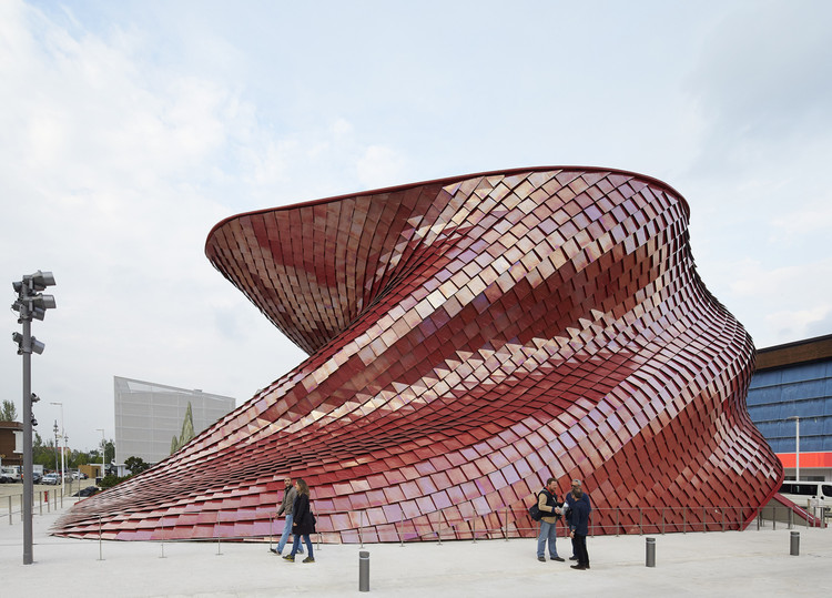 Vanke Pavilion - Milan Expo 2015 / Studio Libeskind, © Hufton+Crow