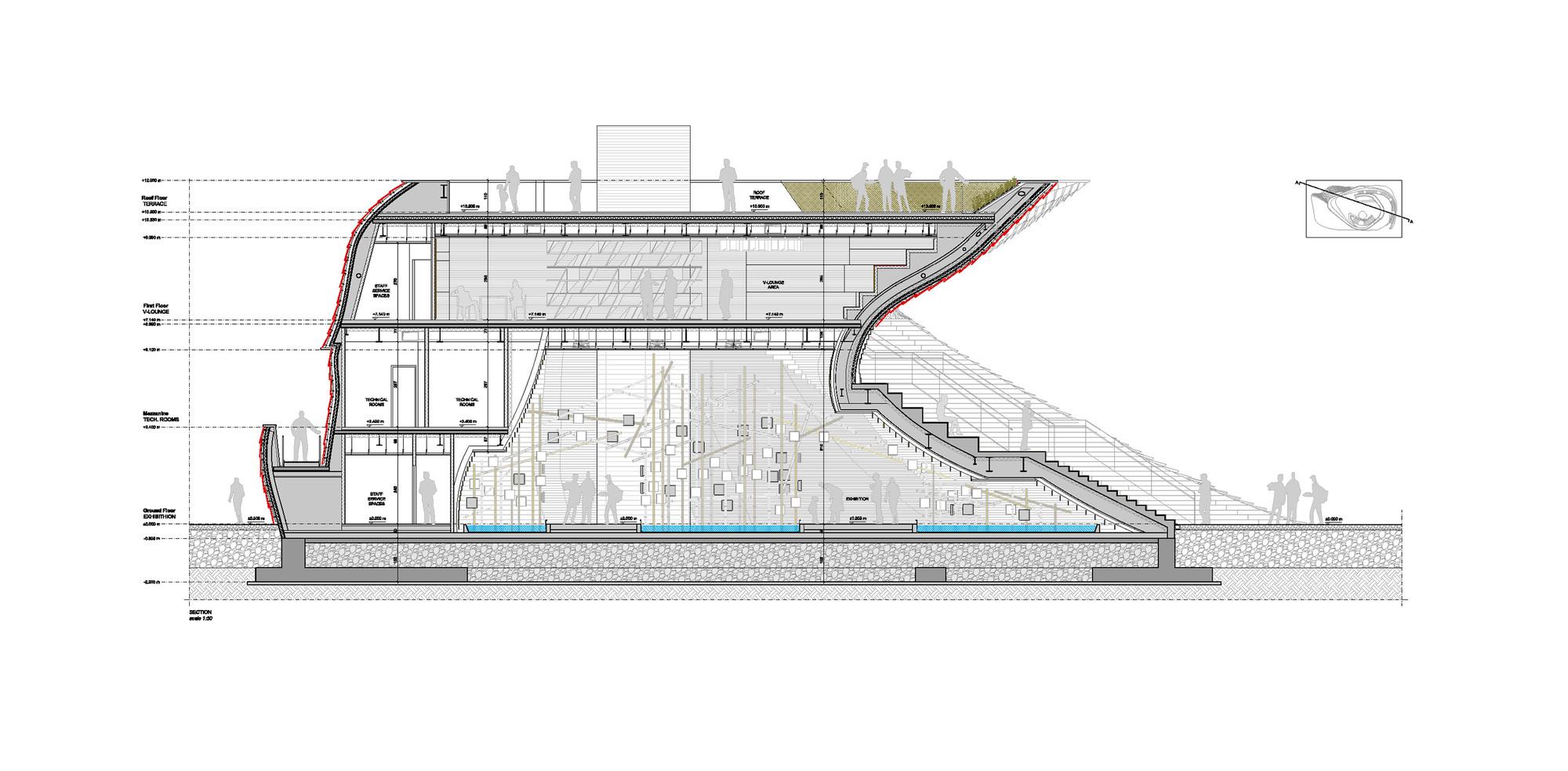 Zaha Hadid Floor Plans Gallery Of Vanke Pavilion Milan Expo 2015 Daniel