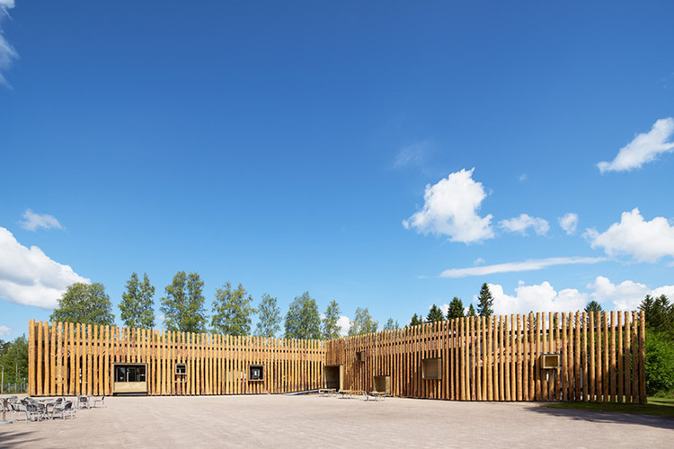 Centro Torsby Finnskog / Bornstein Lyckefors, Cortesía de Bornstein Lyckefors