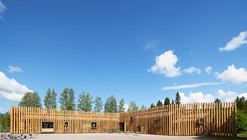 Centro Torsby Finnskog / Bornstein Lyckefors