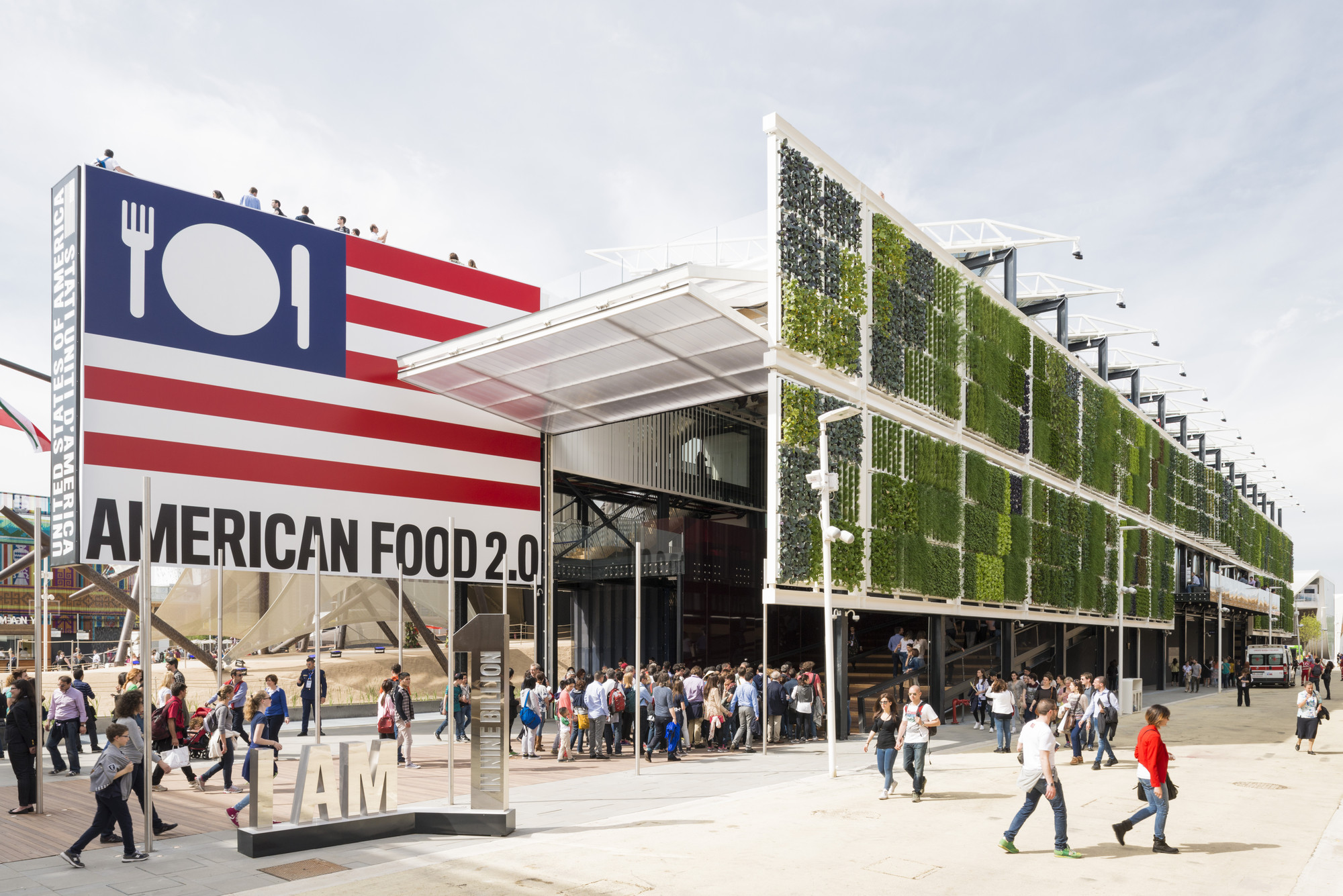 USA Pavilion  - Milan Expo 2015 / Biber Architects, © Saverio Lombardi Vallauri