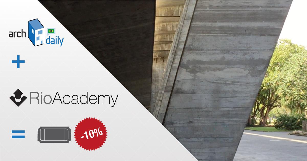 Rio Academy e ArchDaily Brasil oferecem descontos nos ingressos para o evento no Rio de Janeiro, Cortesia de Fórum Rio Academy