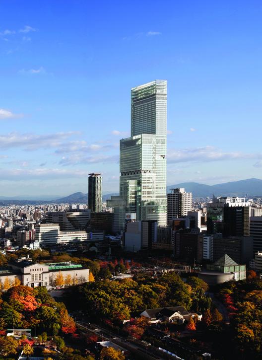 Una mirada interactiva a la historia de los rascacielos de Japón, El rascacielo más alto de Japón, Abeno Harukas. Imagen © Hisao Suzuki
