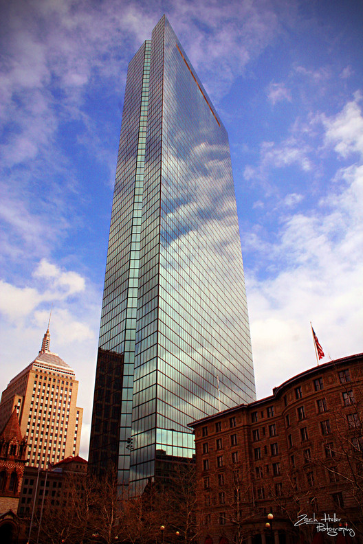 Henry N. Cobb Awarded Architectural League President's Medal, John Hancock Tower in Boston. Image © Flickr CC User Zach Heller