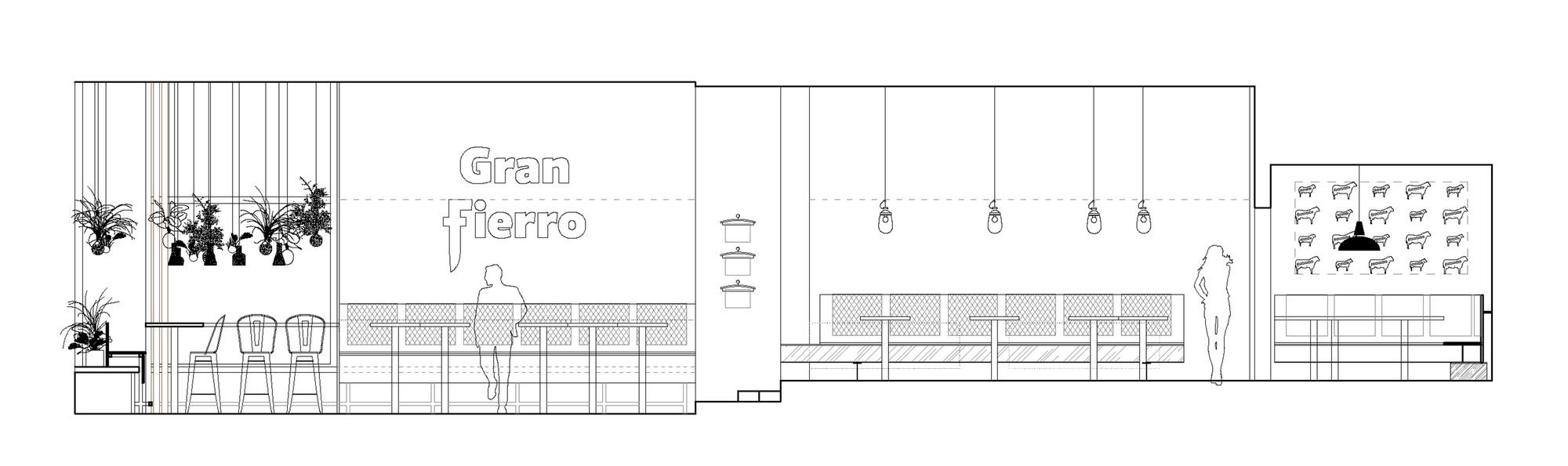 Gran fierro formafatal interior elevation 1