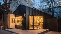 Juice Bar Cabin / Not a Number Architects