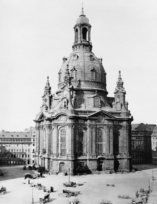 Dresden's Baroque Frauenkirche was destroyed by Allied bombing in 1945, only to be revived in the same form in 2005