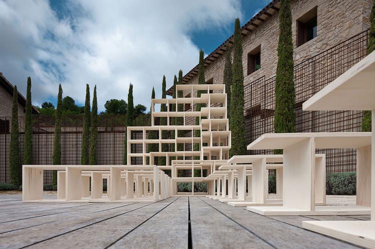 Intervenci n urbana las 7 instalaciones de conc ntrico - Arquitectos logrono ...