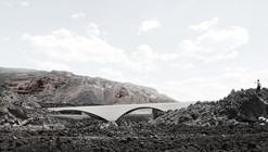 XLII, propuesta finalista en concurso de ideas para el nuevo balneario de la Fuente Santa / España