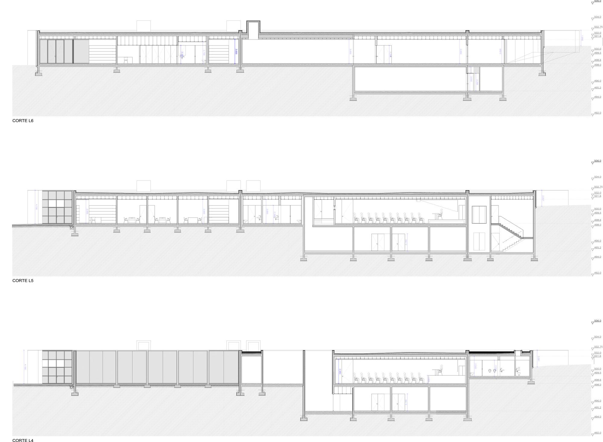 gallery of miguel torga space eduardo souto de moura 22. Black Bedroom Furniture Sets. Home Design Ideas