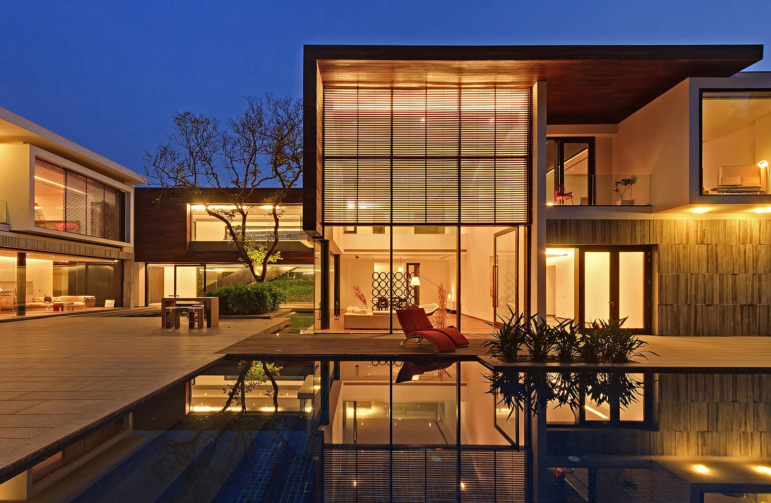 Galer a de la casa de los tres rboles dada partners 9 for Architecture maison design esquisse