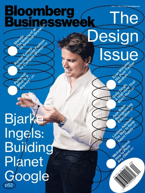 BIG and Heatherwick Trudge On with Googleplex Plans , Courtesy of Bloomberg Businessweek
