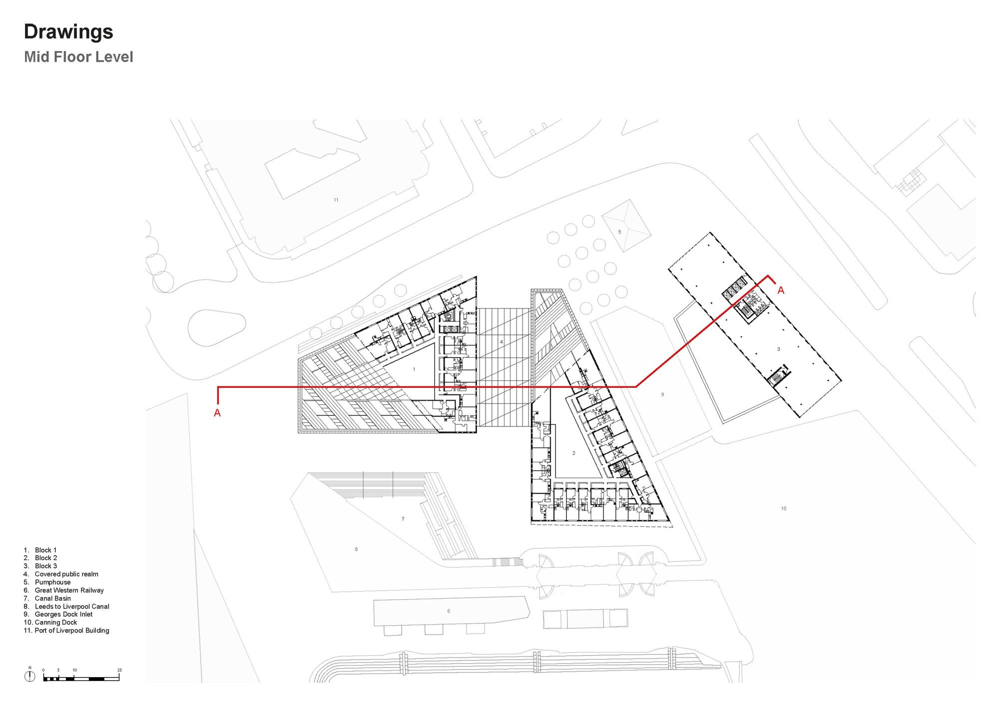 Guggenheim Museum Bilbao Floor Plan Galeria De Residencial Mann Island Broadway Malyan 16