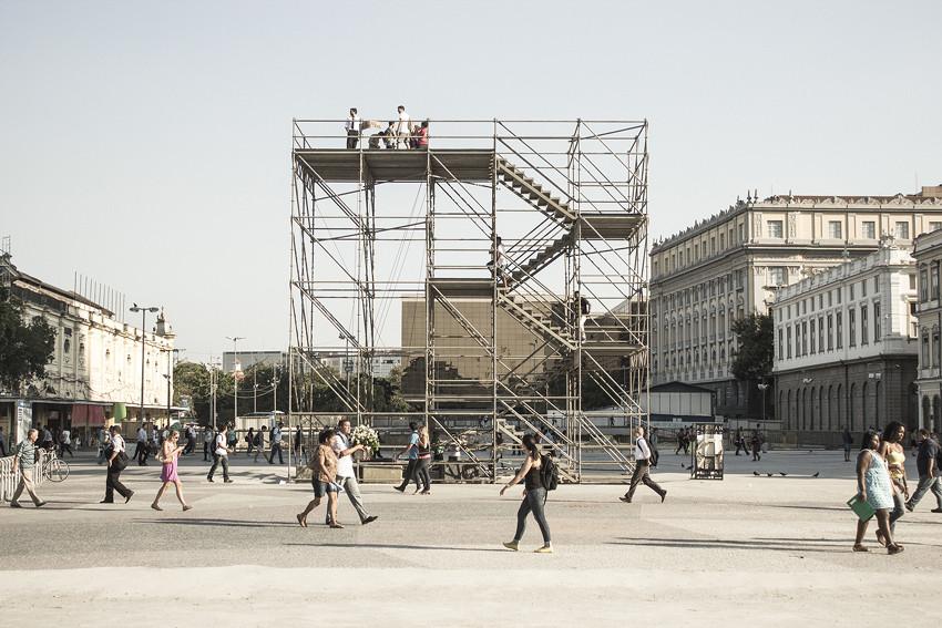 Anunciados os projetos finalistas do Prêmio de Arquitetura Instituto Tomie Ohtake AkzoNobel 2015, Cota 10. Image Cortesia de Instituto Tomie Ohtake