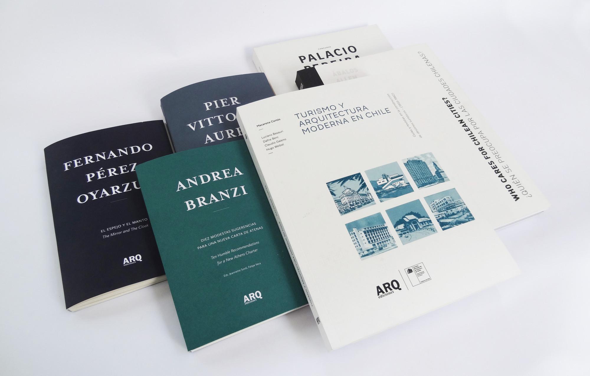 Curso ¿Cómo Publicar Arquitectura? / Escuela de Arquitectura UC, Cortesia de Ediciones ARQ