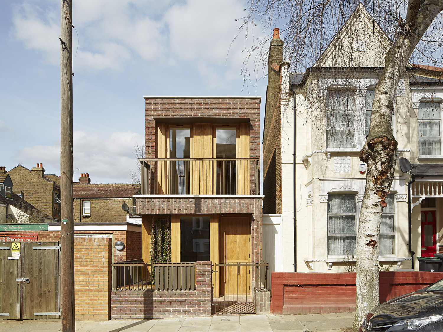 Haringey Brick House / Satish Jassal Architects, © Paul Riddle