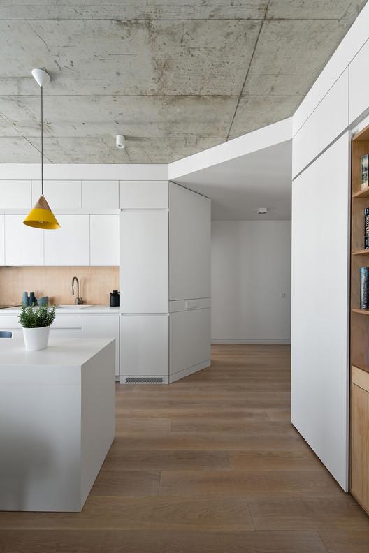 Apartment in Vilnius / Normundas Vilkas, © Leonas Garbacauskas