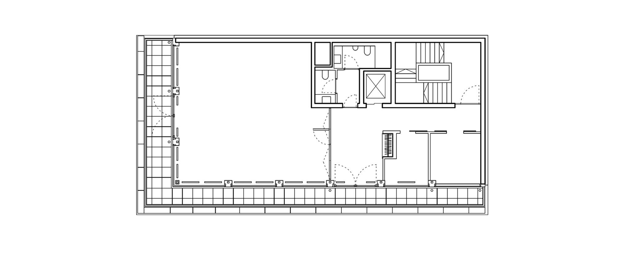 Psd bank office buildingthird floor plan