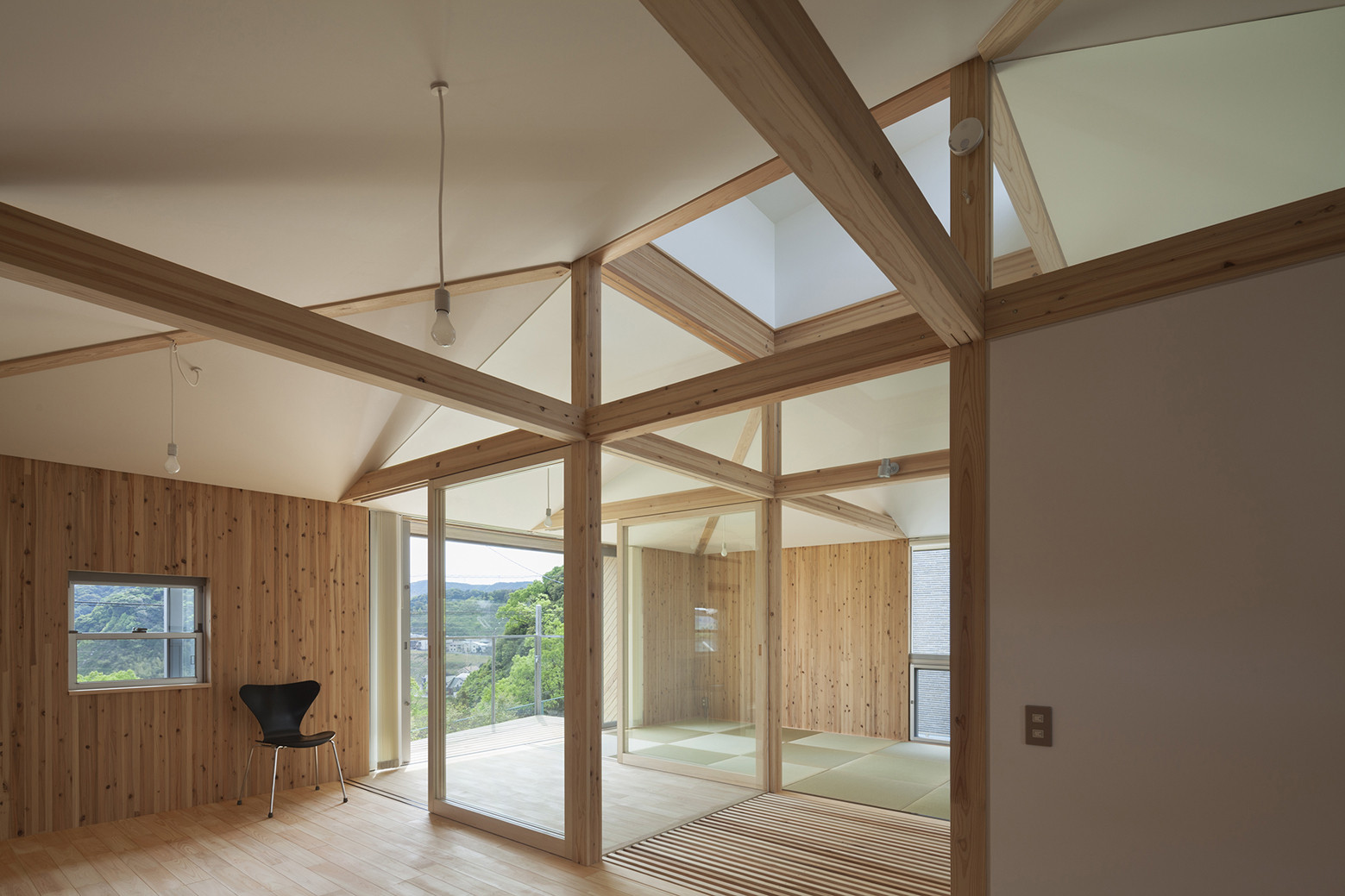 Casa Híbrida de Madera / Architecture Studio Nolla   Plataforma ...