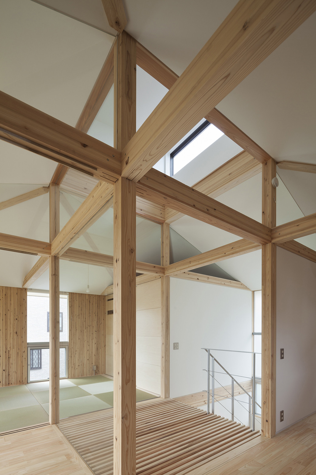 Gallery Of Hybrid Wooden House Architecture Studio Nolla