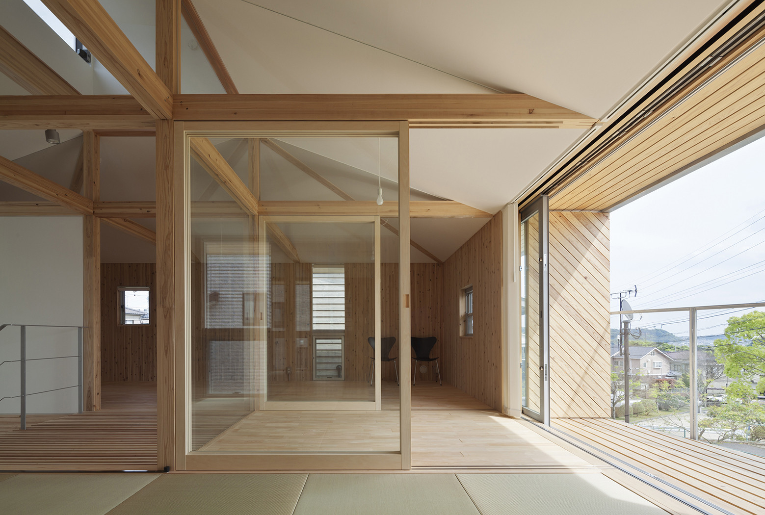 Hybrid Wooden House / Architecture Studio Nolla, © Yosuke Harigane