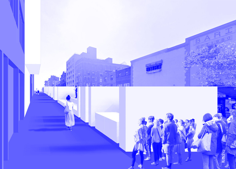 SecondMedia's Foamspace Proposal Wins Storefront's 2015 Street Architecture Competition, Courtesy of SecondMedia