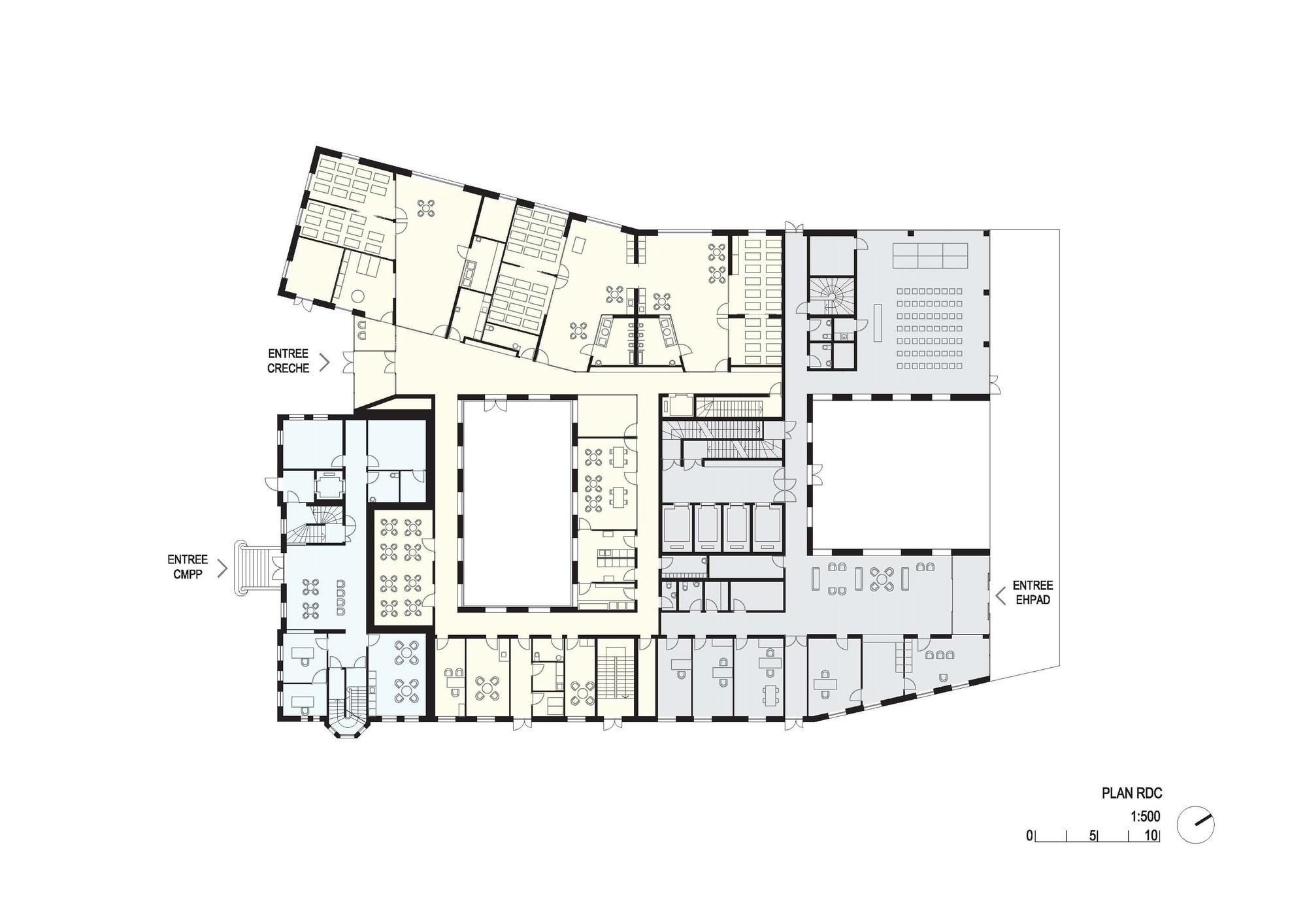 Elderly Residential Home Atelier Z 252 Ndel Cristea Archdaily