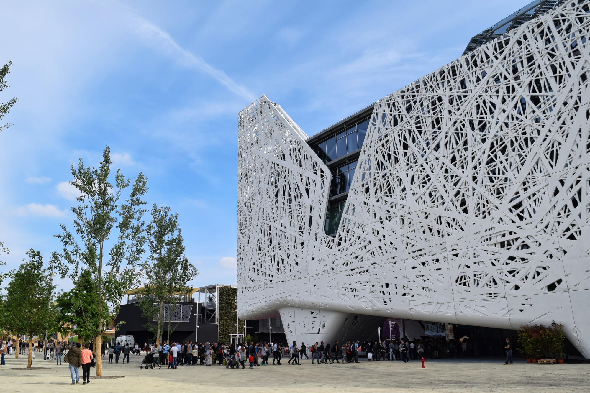 Best Stands Expo Milan : Italy pavilion milan expo nemesi archdaily
