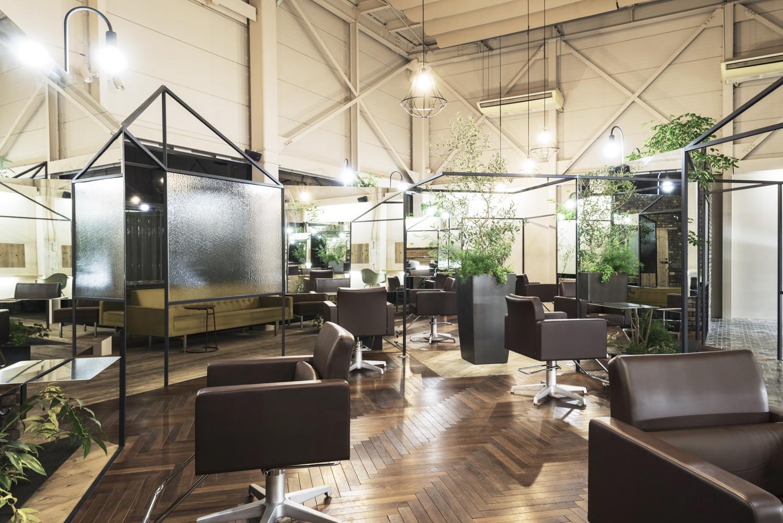 Gallery of vision atelier takehiko nez architects 5 - Interior hair salon lighting ideas ...