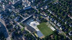 Expansão de Esportes e Artes no Colégio Gammel Hellerup / BIG