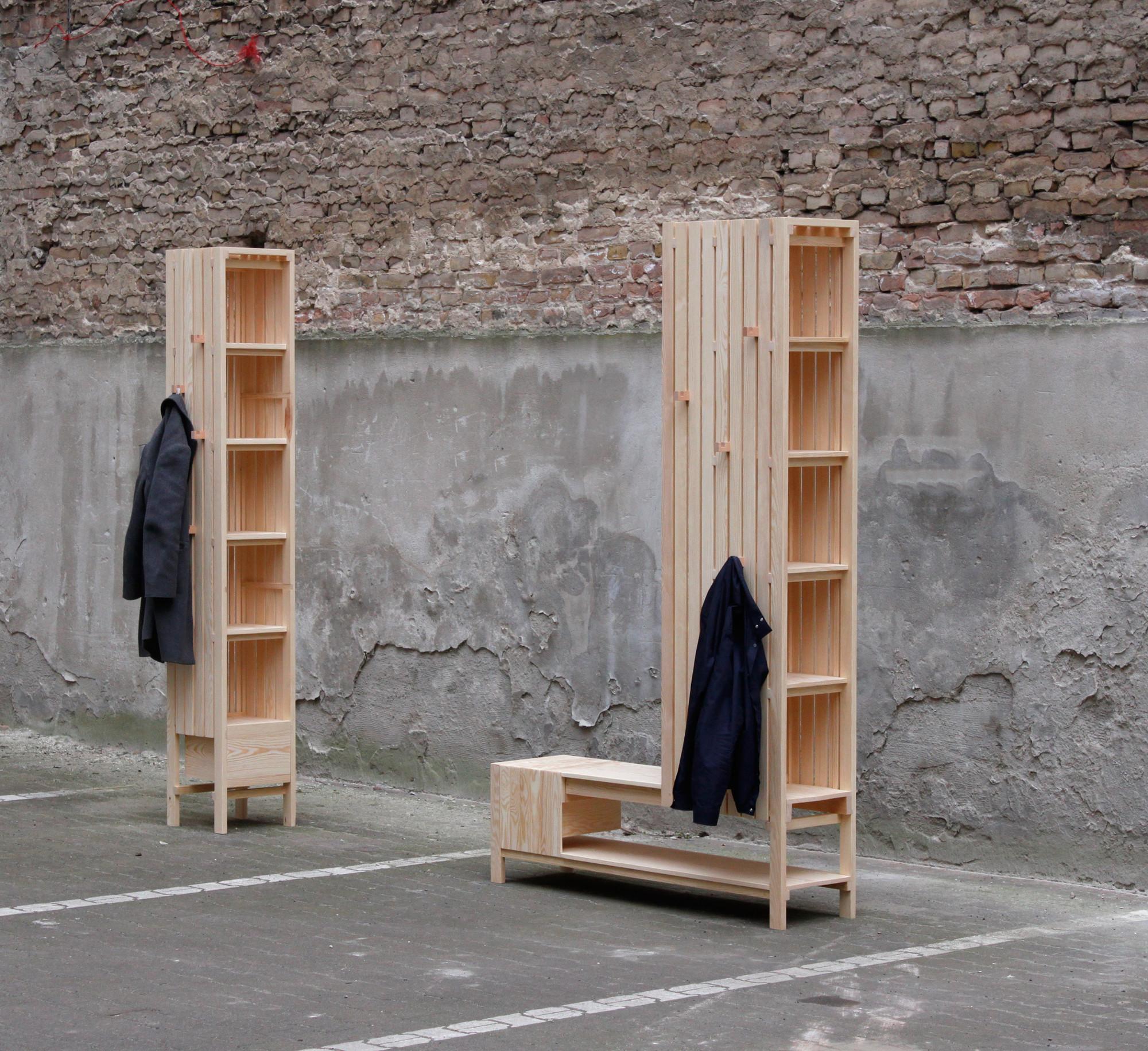 Mobiliário de uso misto / Sebastián Erazo Fischer, © Laure Garcia Castelli