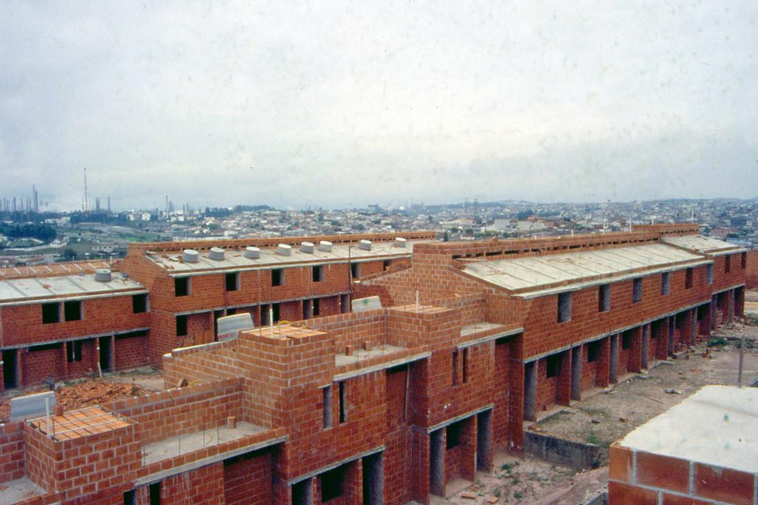 USINA 25 anos - Mutirão 26 de Julho , Vista do Mutirão 26 de Julho . Image © USINA CTAH