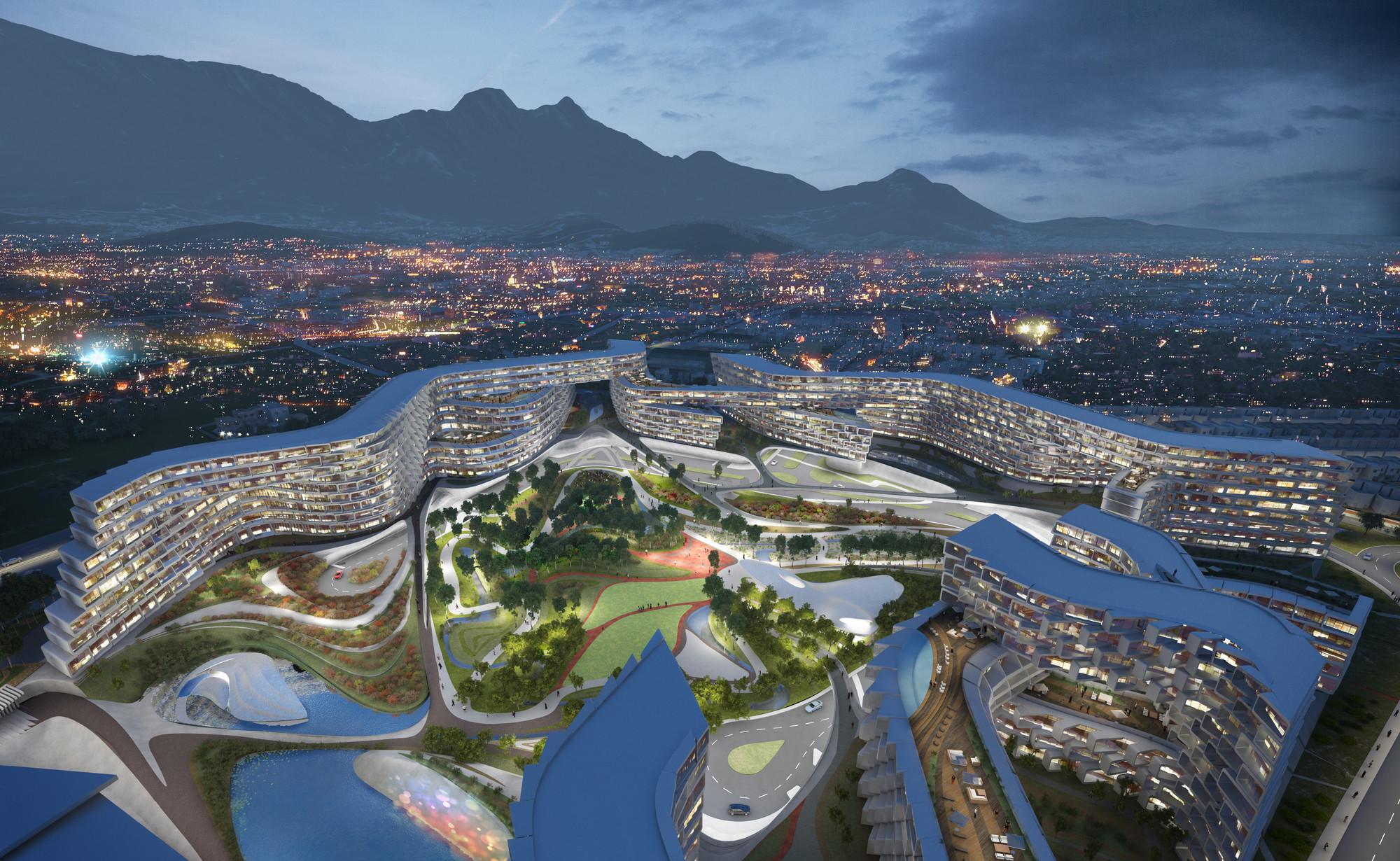 Zaha hadid divulga projeto de habita o em monterrey for Project planner hd