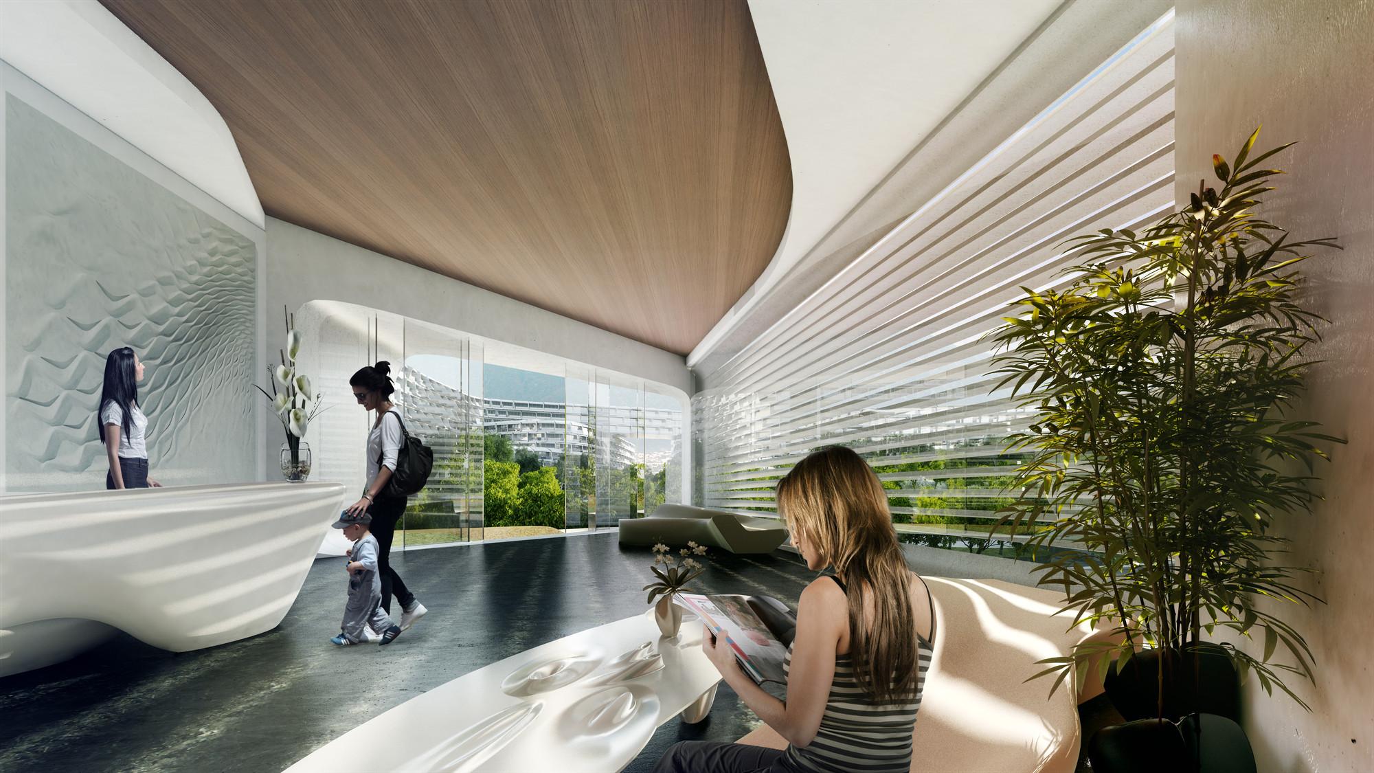 Gallery Of Zaha Hadid Unveils Community Oriented Housing