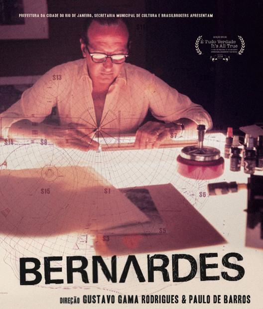 """Últimos dias para se inscrever no Programa CAU/RJ de Patrocínio Cultural, O documentário """"Bernardes"""" foi um dos primeiros projetos culturais patrocinados pelo CAU/RJ. Imagem de divulgação"""