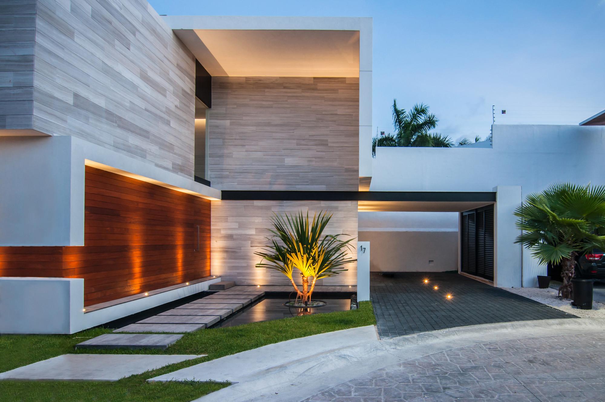 Galer a de casa paracaima taff arquitectos 5 for Fachadas de casas modernas a desnivel