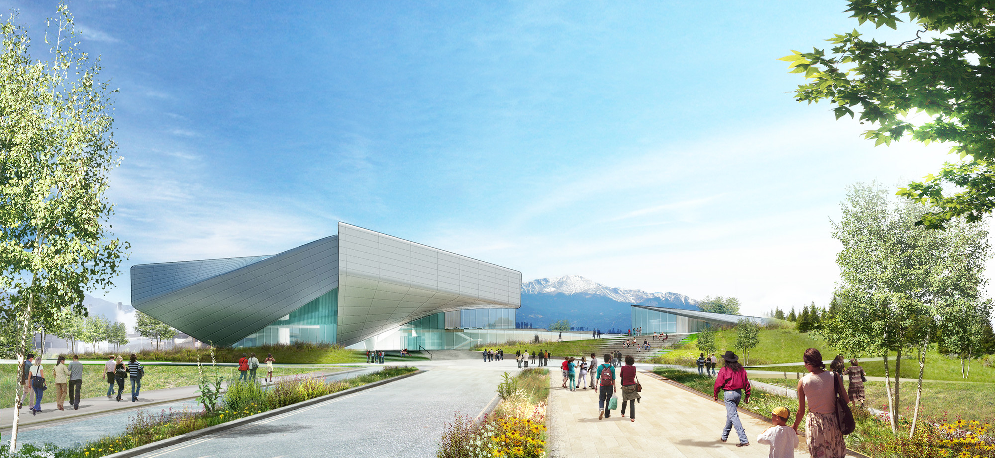 Diller Scofidio + Renfro Reveals Concept Designs For US Olympic Museum, Courtesy of Diller Scofidio + Renfro