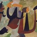 Grupo de personagens no bosque, 1931. © Successión Miró, Miró, Joan AUTVIS, Brasil, 2015
