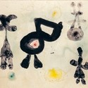 Homem, mulher, pássaro, 1959. © Successión Miró, Miró, Joan AUTVIS, Brasil, 2015