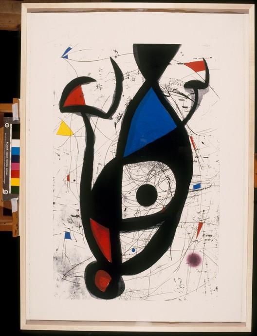 La equilibrada, 1975. © Successión Miró, Miró, Joan AUTVIS, Brasil, 2015
