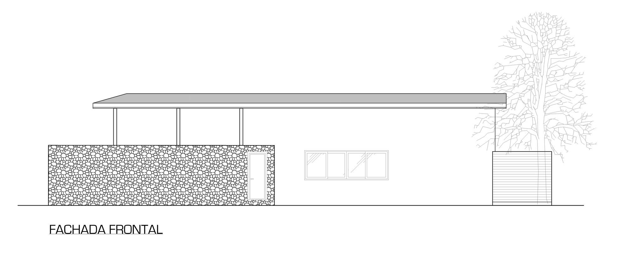 Galer a de casa jard n del mar salagnac arquitectos 14 for Casas jardin del mar