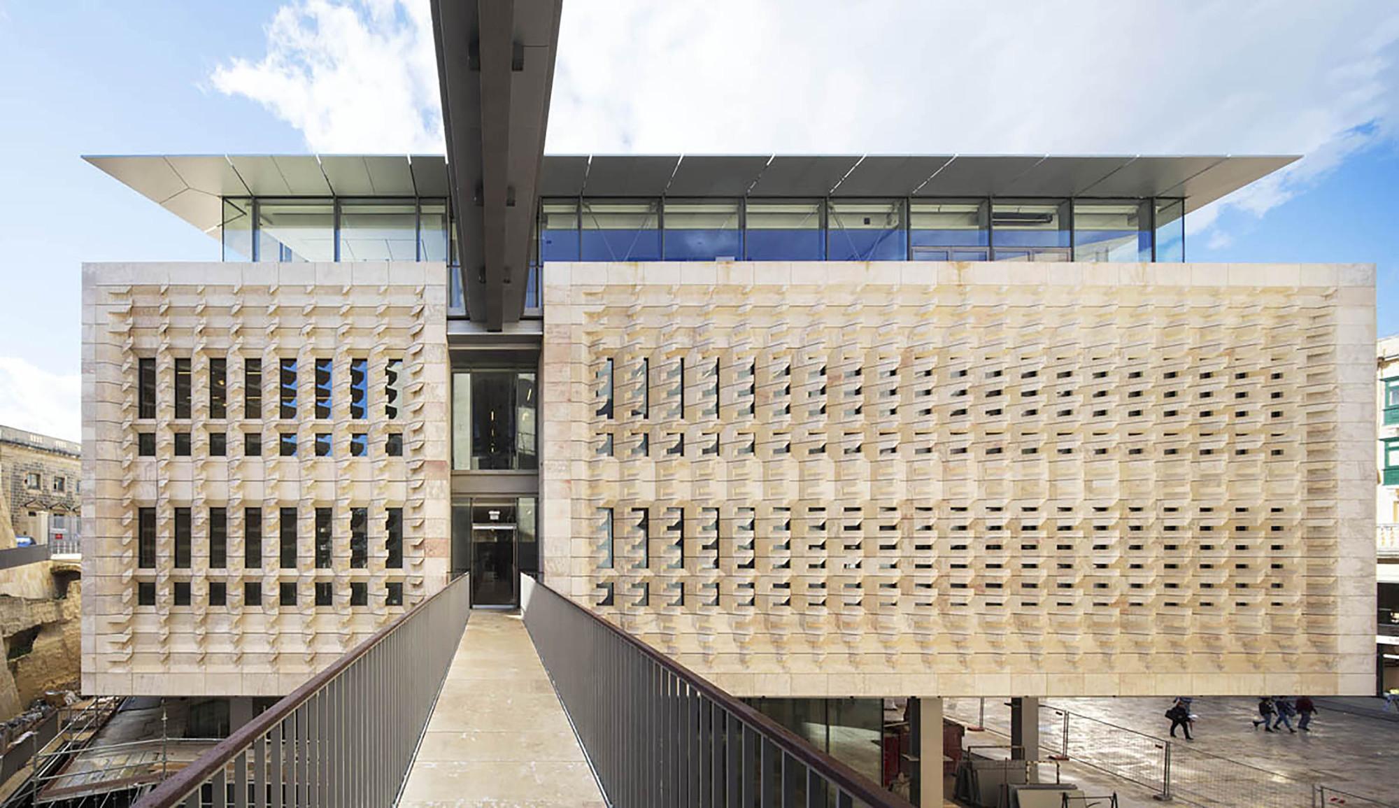 Porta de Valletta  / Renzo Piano Building Workshop, © Michel Denancé