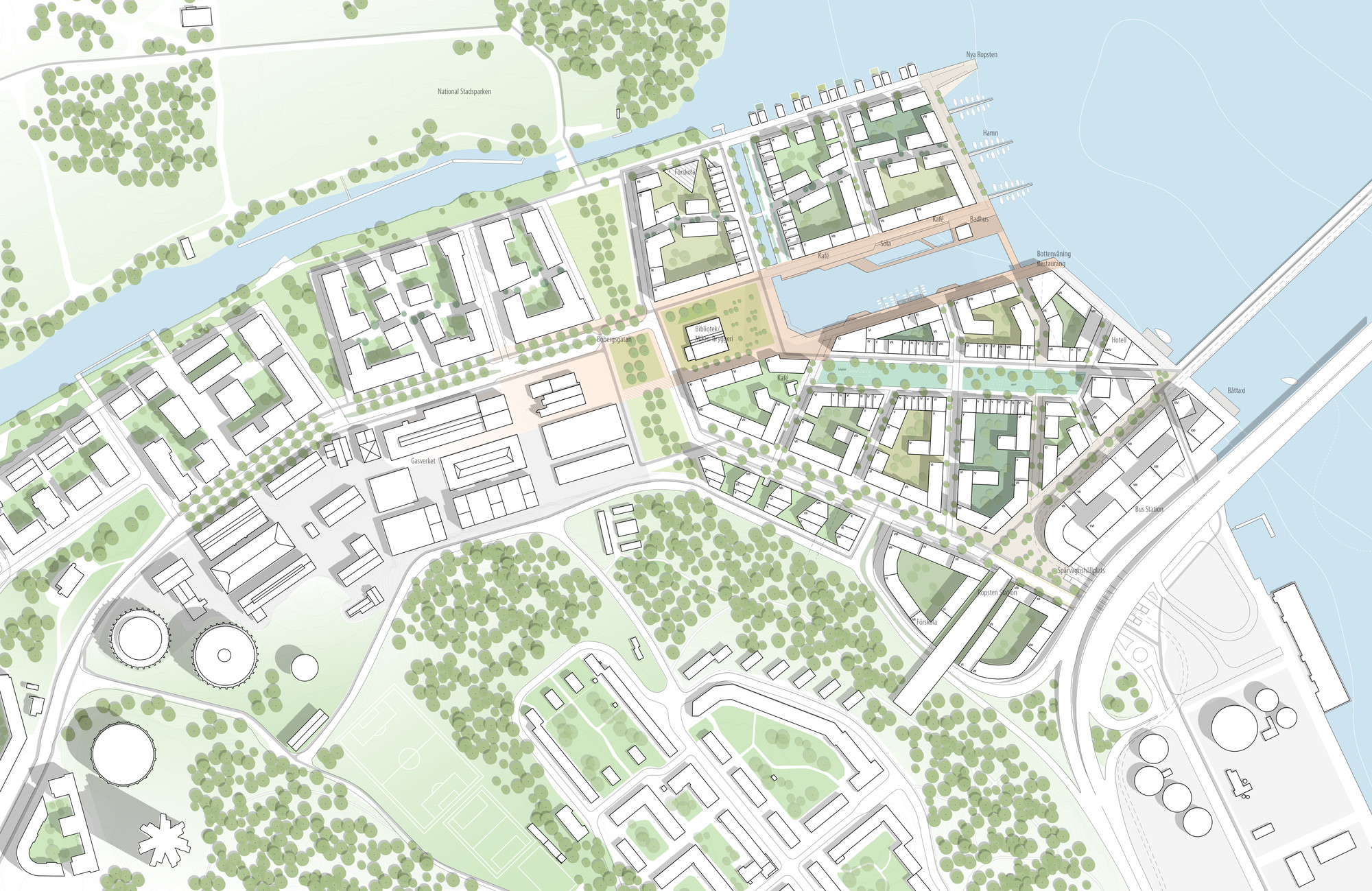 Gallery Of Adept And Mandaworks Design Masterplan For