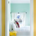 La decoración interior es fresca y agradable. Imagen cortesía de Airbnb