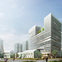 Southeast view. Image Courtesy of LYCS Architecture