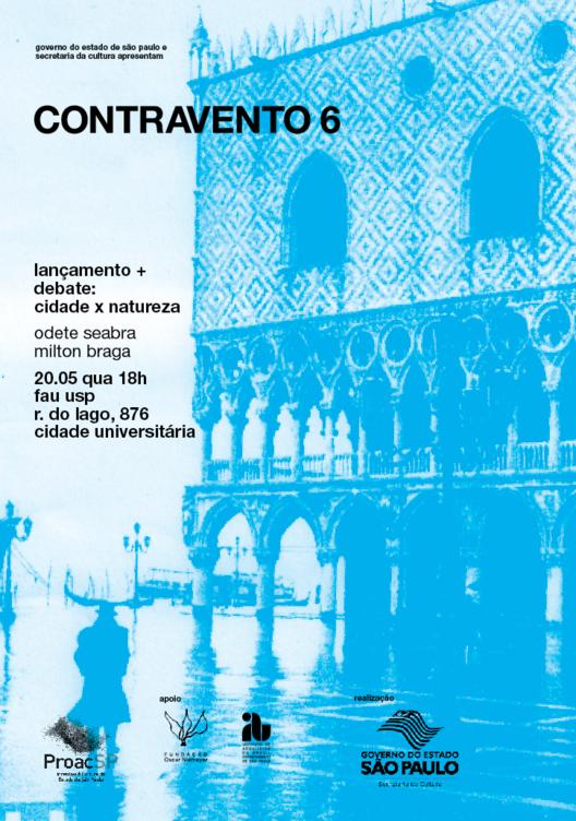 2º Lançamento da revista Contravento 6, na FAU-USP, Cortesia de Revista Contravento