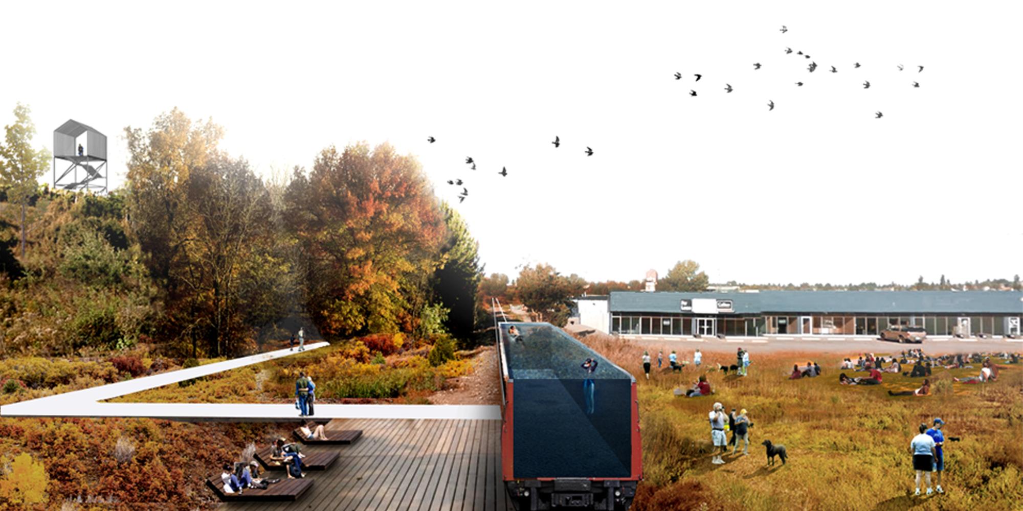 L a p laboratorio de arquitectura y paisaje primer lugar for Arquitectura del paisaje